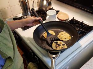 pancakes flippin